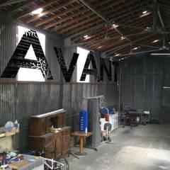 Garage/shed by Allegre + Bonandrini architectes DPLG, Industrial