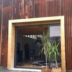 Patios & Decks by Allegre + Bonandrini architectes DPLG, Industrial