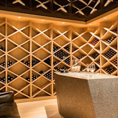 Wine cellar by monovolume architecture + design,