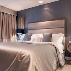 Chelsea Harbour Apartment:  Bedroom by Definitive Interior Design