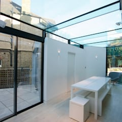 Dovercourt Road:  Dining room by IQ Glass UK