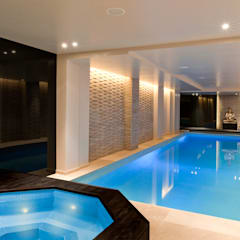 Pool and Spa Renovation:  Pool by London Swimming Pool Company