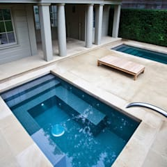 Twin Plunge Pools :  Pool by London Swimming Pool Company
