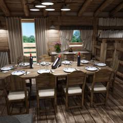 Dining room by studiosagitair