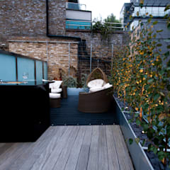 London Bridge, London:  Terrace by Urban Roof Gardens