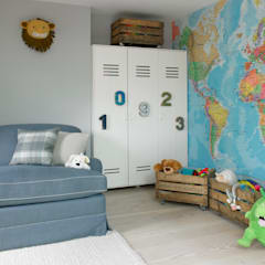 eclectic Nursery/kid's room by LEIVARS