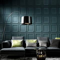 Papel Tapiz ARTE: Salas de estilo  por Interior 3