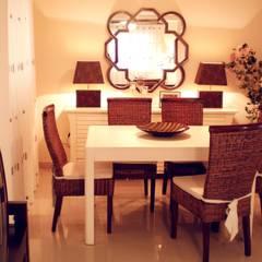 Decoración de apartamento en Daimúz: Comedores de estilo  de Paco Escrivá Muebles
