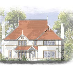 Traditional House Designs for Hampshire sites:  Houses by 4D Studio Architects and Interior Designers, Classic