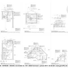 """Eigentumswohnung in einem """"Split-Level-Komplex"""" - Hannover: modern  von GID│GOLDMANN-INTERIOR-DESIGN - Innenarchitekt in Sehnde,Modern"""