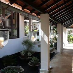 Two Houses in Goa:  Terrace by 4D Studio Architects and Interior Designers