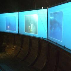 Aquarium San Sebastián: Museos de estilo  de Vidrios de privacidad