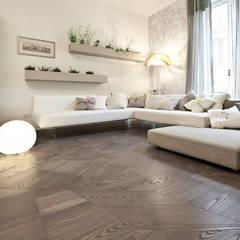 Paredes y pisos de estilo  por tuttoparquet