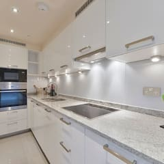 Kitchen:  Kitchen by The Lady Builder