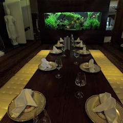 Exotic Thai Restaurant:  Gastronomy by Aquarium Architecture