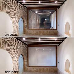 متاحف تنفيذ Vidrios de privacidad
