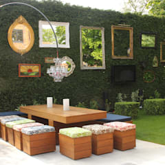 The Gallery Garden:  Garden by Cool Gardens Landscaping