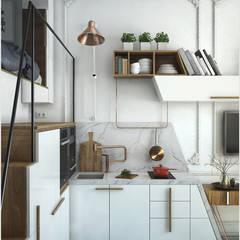 Кухонный гарнитур ToTaste.studio Кухни в эклектичном стиле