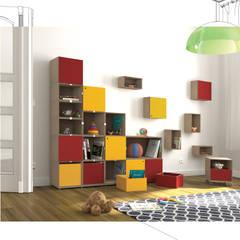 Regalsystem Kinderzimmer:  Kinderzimmer von stocubo - Das modulare Regalsystem
