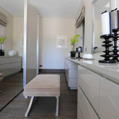 Quinta do Lago:  Dressing room by Cheryl Tarbuck Design