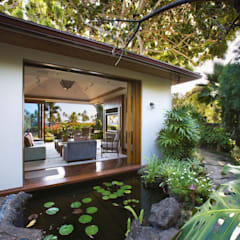 Flugel 180 Straight Sliding Door Hardware: tropical Pool by Coastal Joinery Hardware