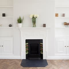 Oakhill Court, Putney:  Living room by Ardesia Design