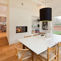 Talbot Lodge:  Dining room by Riach Architects