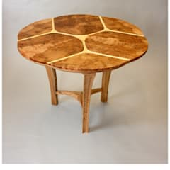 Trinity dining table:   by Tom Cooper Fine Furniture,