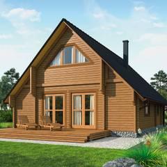 """Ferienhaus """"Norwegen"""" : skandinavische Häuser von THULE Blockhaus GmbH"""