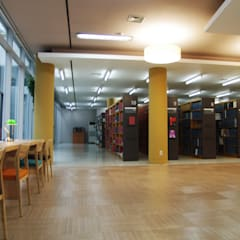 서울연구원 도서관 / The Seoul Institute Library, Korea: Design Solution의  회의실,모던