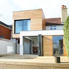 The Cube, Winchester:  Houses by Adam Knibb Architects