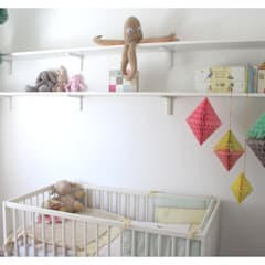 Room overview:  Nursery/kid's room by Crow's Nest Interiors