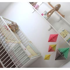 Baby's Room, Pool-in-Wharfedale:  Nursery/kid's room by Crow's Nest Interiors
