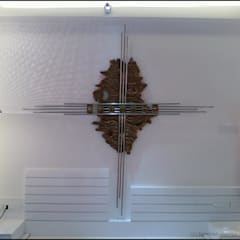 WALL MURAL (WALL RELIEF):  Walls by Drashtikon designer consultant (kamal maniya)