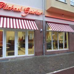 Ausstellungsräume:  Ladenflächen von Michael Geisler GmbH