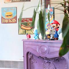 غرفة المعيشة تنفيذ Sandra Dages