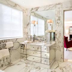 Fairways at the Bishops Avenue:  Bathroom by Celia Sawyer Luxury Interiors