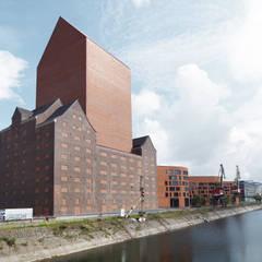 Edificios de Oficinas de estilo  por Ortner & Ortner Baukunst Ziviltechnikergesellschaft mbH