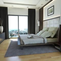 MONO MİMARLIK İNŞAAT – Batur Çatalçeşme:  tarz Yatak Odası