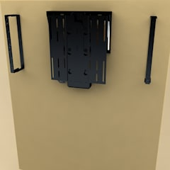 Compact, wall-mounted unit.:  Bathroom by DECOLIFT