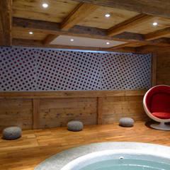 Spa oleh Concrete LCDA, Modern