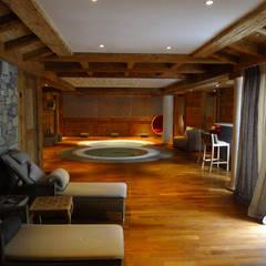 Spa de estilo  por Concrete LCDA, Moderno
