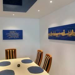 Столовые комнаты в . Автор – Wohnen & Kunst, Модерн