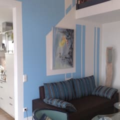 Wandgestaltung mal anders von Wohnen & Kunst Ausgefallen