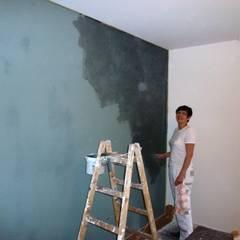 Bei der Arbeit... von Wohnen & Kunst Ausgefallen