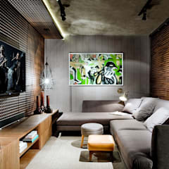 Media room by Larissa Maffra,