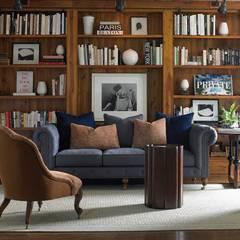 Caracole Interiors: rustikale Wohnzimmer von Sweets & Spices Dekoration und Möbel