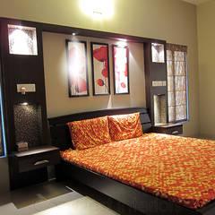 Bedroom by Cozy Nest Interiors