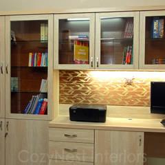Ramaiyan Residence:  Study/office by Cozy Nest Interiors