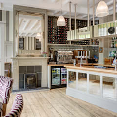 Charming Pub on Kew Green:  Gastronomy by White Linen Interiors Ltd,